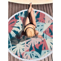 Country Style Oversized/round Beach towel