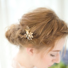 Lovely Rhinestone/Alloy Hairpins (Sold in single piece)