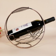 Simple Elegant Classic Iron Wine Rack