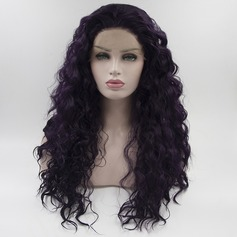 Deep Wavy Synthetic Synthetic Wigs Lace Front Wigs