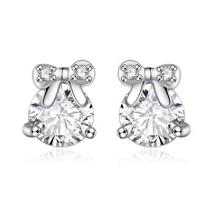Unique Zircon With Zircon Ladies' Fashion Earrings (Set of 2)