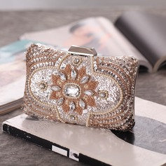 Delicate Crystal/ Rhinestone Clutches/Luxury Clutches