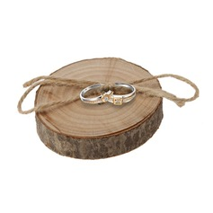 Shabby Rustic Ring Box in Wood (set of 5) (103103584)