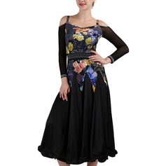 Women's Dancewear Spandex Modern Dance Performance Dresses