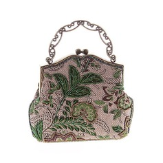 Elegant Embroidery Clutches/Totes