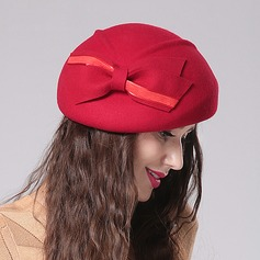 Ladies' Fashion/Glamourous/Elegant/Simple/Exquisite/Eye-catching/High Quality/Romantic Wool With Bowknot Beret Hat