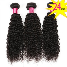 24 inch 8A Brazilian Virgin Human Hair Kinky Curly(1 Bundle 100g)