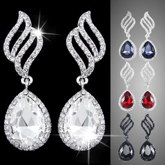 Exquisite Alloy Rhinestones Ladies' Fashion Earrings