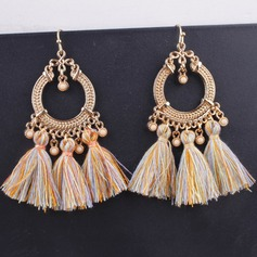 Alloy Fashion Earrings (Set of 2 pairs)