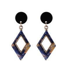 Sexy Alloy Acrylic Women's Fashion Earrings