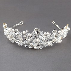 Gorgeous Crystal/Rhinestone/Alloy/Imitation Pearls Tiaras