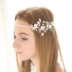 Lovely Alloy/Imitation Pearls Headbands
