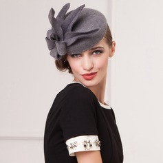 Ladies' Unique Wool Bowler/Cloche Hat