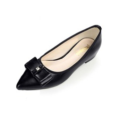 Women's Leatherette Flat Heel Flats shoes