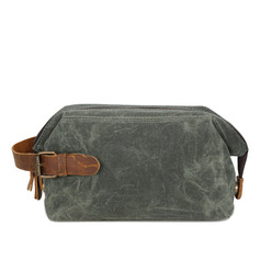 Groom Gifts - Modern Canvas Dopp Kit Bag