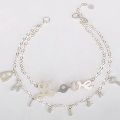 Personalized Ladies' Romantic 925 Sterling Silver Name Bracelets For Bridesmaid/For Friends