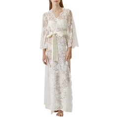 Lace Bride Bridesmaid Lace Robes (248149557)