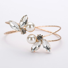 Ladies' Stylish Rhinestones Rhinestone Bracelets For Bride (011218897)