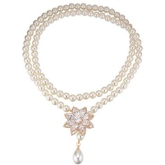 Brillant Zircon de Dames Collier de mode