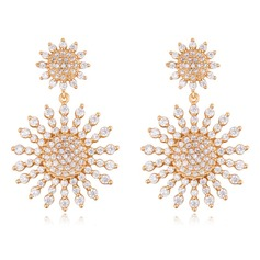 Ladies' Classic Crystal Earrings For Bride/For Bridesmaid/For Friends