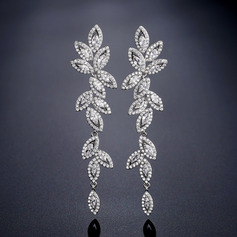 Shining Alloy/Rhinestones Earrings