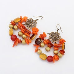 Chic Alloy Acrylic With Acrylic Ladies' Fashion Earrings