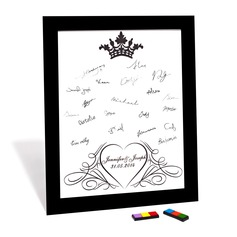 Conception de coeur Firma Framed Canvas