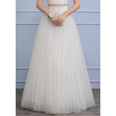 Separates Floor-Length Tulle Wedding Skirt