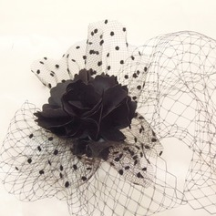 Ladies' Classic Net Yarn Fascinators