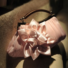 Charming Satin/Chiffon Clutches/Satchel