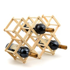 Wood Bottle Holder / Wine Rack (052095643)