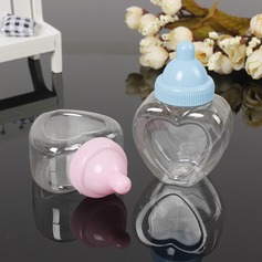 Creative/Lovely Heart-shaped Plastic Candy Jars and Bottles