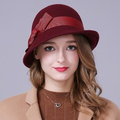 Ladies' Beautiful Wool Bowler/Cloche Hat (196132483)