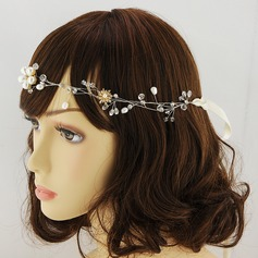 Ladies Unique Alloy Headbands With Crystal (Sold in single piece)