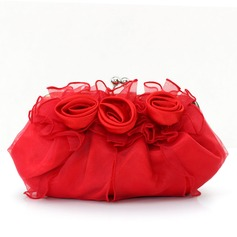 Gorgeous Satin/Tulle Clutches