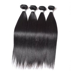 4A Straight Human Hair Human Hair Weave (Sold in a single piece)