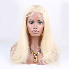 5A Virgin/remy Straight Human Hair Lace Front Wigs 170g