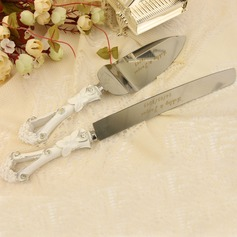 Personalized Stainless Steel Serving Sets With Diamond Rhinestone (118031742)