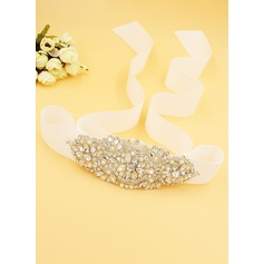 Beautiful Sash With Rhinestones