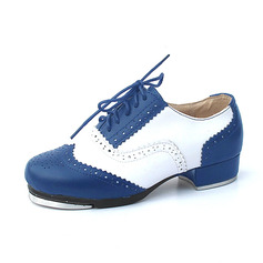 Unisex Microfiber Leather Flats Tap Dance Shoes (053087769)