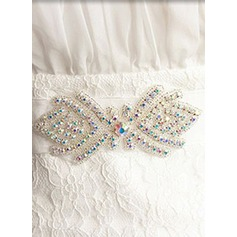 Fashional Ribbon Sash With Rhinestones