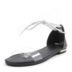 Femmes Talon plat Sandales Chaussures plates chaussures