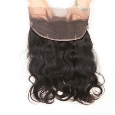 360 Frontal 4A Non remy Body Human Hair Closure (Sold in a single piece) 80g