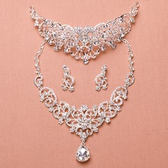 Nice Alloy/Rhinestones With Rhinestone Ladies' Jewelry Sets