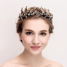 Ladies Vintage Alloy/Imitation Pearls Tiaras