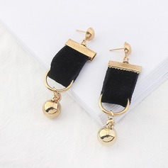 Beautiful Alloy Silk With Ribbon Ladies' Fashion Earrings