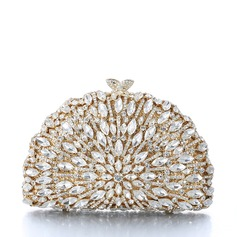 Attractive Alloy/Gold Plated Clutches/Bridal Purse/Luxury Clutches