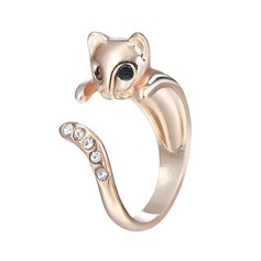 Lovely Unique Cat Women's Fashion Rings Gifts