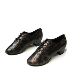 Unisex Leatherette Latin Practice Dance Shoes