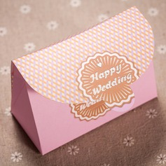 """Happy Wedding"" Handbag shaped Favor Boxes"